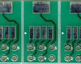 3 PCS. - SOT223-5 to IDC2x3.