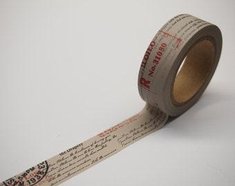 Vintage Style Washi Tape (10M)