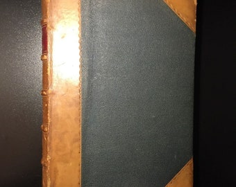 Our Fathers Have Told Us. Part I. The Bible of Amiens, John Ruskin, 1884, 1st Ed