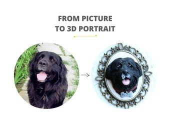 Custom pet portrait, custom dog portrait, custom dog gift, custom pet jewelry, custom dog art, personalized pet art, dog picture