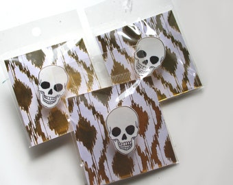 Skull 'enamel' pin