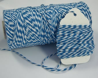 Bakers Twine - The Twinery - 100% Cotton - Denim Blue Twist - Your Choice of Amount