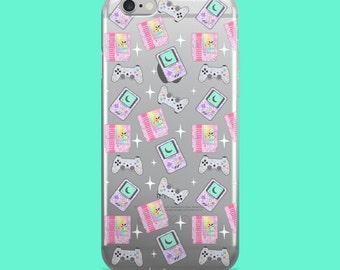 Magical Girl Gamer Clear Phone Case