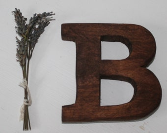 Bridesmaid Gift, Small Wooden Inital, Wooden Letter Keepsake, Personalised Gift,Childrens name letter