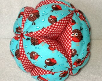 Round Robins Easy-Catch Baby/Toddler Clutch Ball - Baby Shower Gift