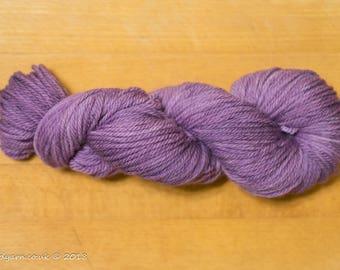Purple Haze Hand Dyed Merino Aran Yarn