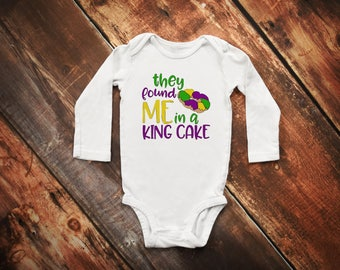 They Found me in a King Cake Bodysuit