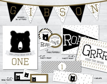 bear party printables, bear party, bear party decorations, teddy bear party printables, teddy bear party, teddy bear party decorations