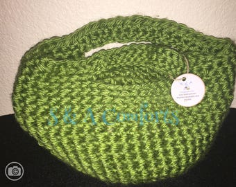 Ready to Ship**Crocheted Tote Bag|Small Purse|Handmade Purse