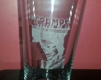 Cramps Pint Glass