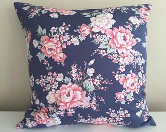 """Pillowcase """"Rose garden, blue"""""""
