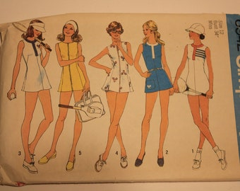Simplicity # 6942 Tennis dress and panties size 12 from 1975