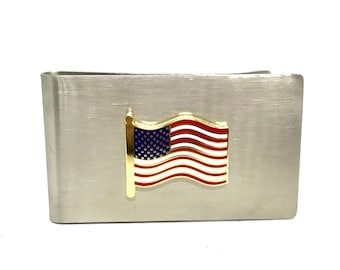 US Flag Money Clip – Color