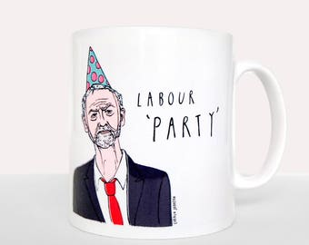 Jeremy Corbyn Labour 'Party' Mug