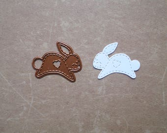 Die cut Stencil Creative animals little rabbit