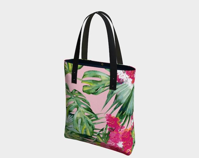 Tropical Paradise Bag, Tote, Beach Bag