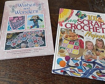 Vintage Crochet Books - 101 Easy Crochet Projects