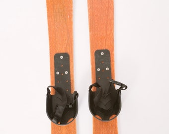 Decorative Wooden Skis