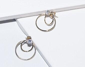 Double Promise Earrings