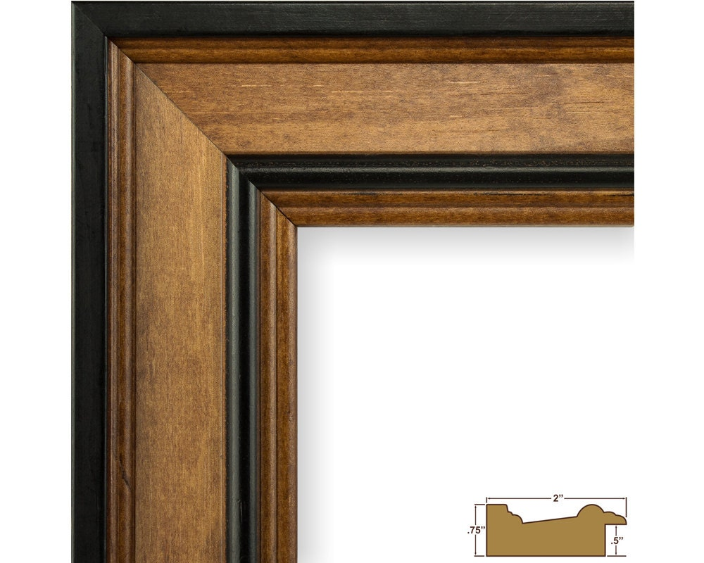 Craig Frames 22x28 Inch Solid Wood Country Brown Picture