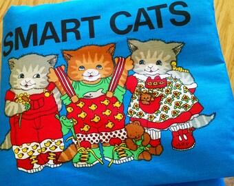 Cloth Book – Smart Cats-  Item BK150102