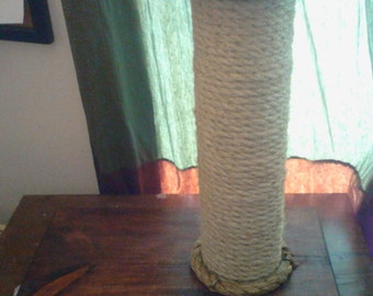 Sturdy Siesel Rope Cat Scratcher with Replaceable Scratch Post