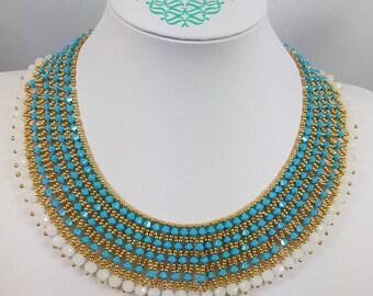 "Handmade necklace ""Nefertari necklace"""