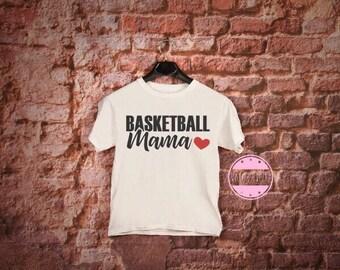 Basketball Mom Shirt or Tank