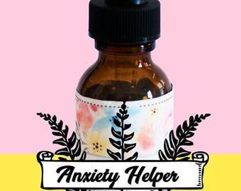 Anxiety helper Bach Flower Essence holistic natural