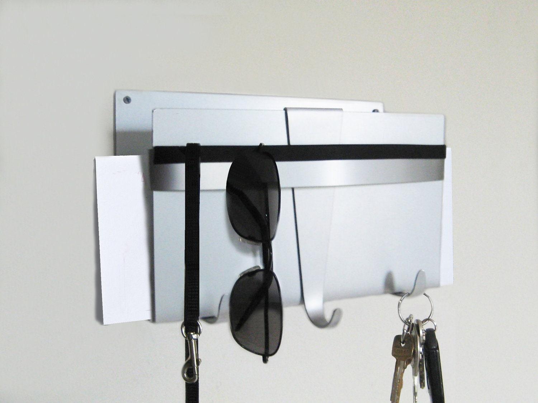 Modern Wall Key Holder And Mail Organizer