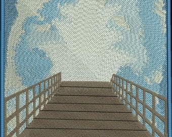 Heaven's Bridge machine embroidery design