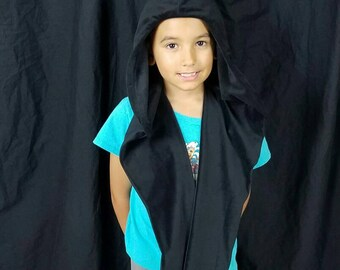 Kid's Sith Hood Star Wars inspired Costume Cosplay