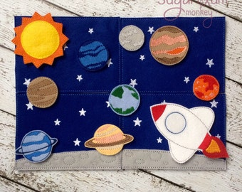 Space Play Set, Story Board
