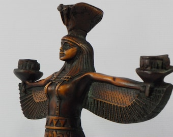 very unique statue for Isis: Mother Goddess of Ancient Egypt