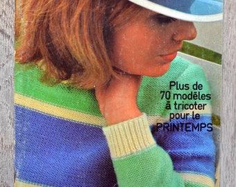 28 Phildar magazine - spring (Vintage)
