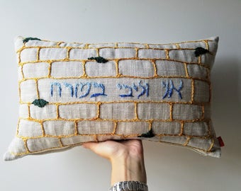 Custom Embroidered Pillow