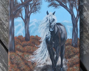 Rocky Mountain Horse Painting