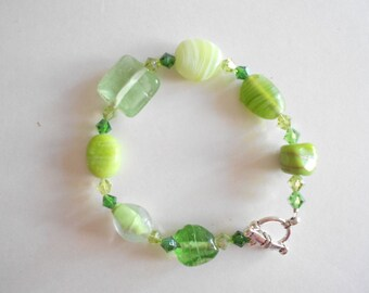 Green Beads Bracelet India Glass Beads Green Glass Beads Green Bracelet India Beads Bracelet Green India Beads