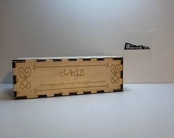 Sage Dice Box