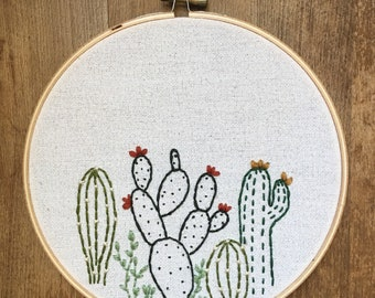 """7"""" Cactus Hoop"""