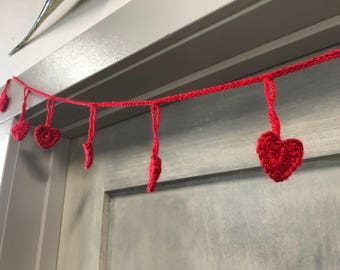 Sweet Little Heart Garland - 13 hearts & 6 feet