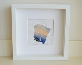 Polaroid Emulsion Lift - Tainted Sunset
