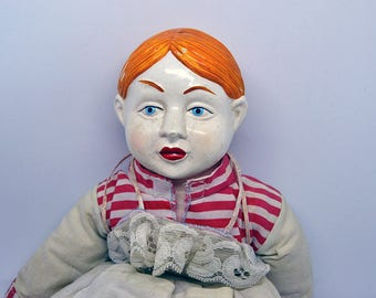 Antique Doll-Vintage China Doll 17 ' '