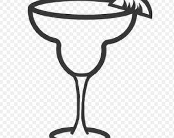 Margarita SVG Cut File for Cricut