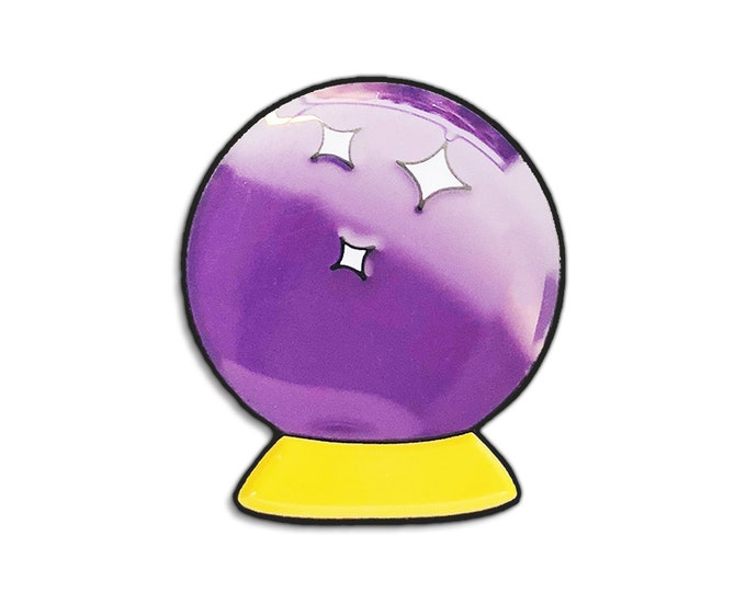 Crystal Ball Emoji Pin