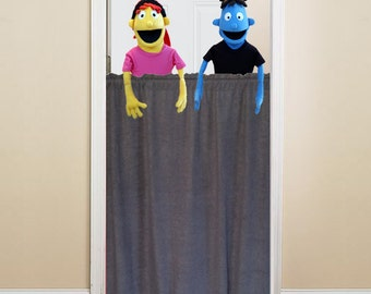 Doorway Stage Puppet Theater - Puppet Stage EASY INSTALL