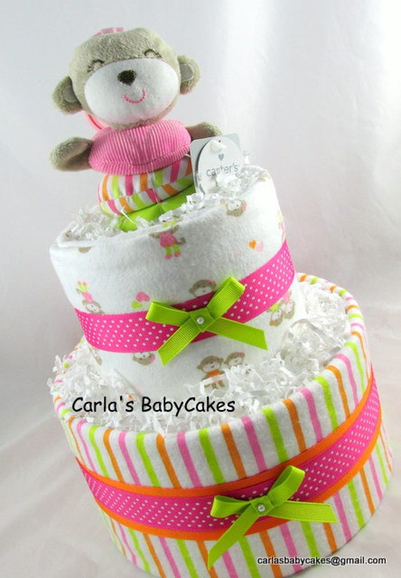 Baby Shower Cake Checked
