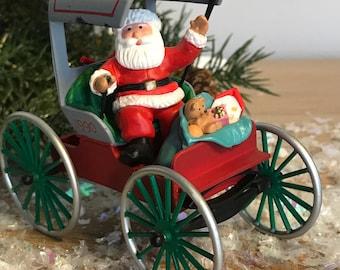 Santa Stagecoach