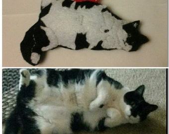 Custom felt ornament of your pet!