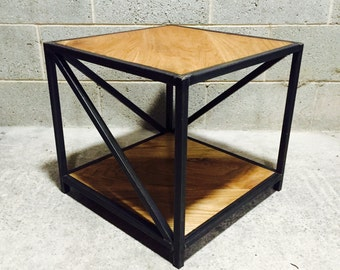 RETRO 'Z' SIDE TABLE - Industrial Style